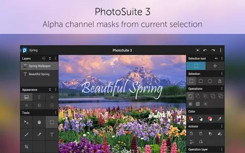 PhotoSuite 3 Pro 照片编辑软件[Android] $0.99丨反斗软件值得买