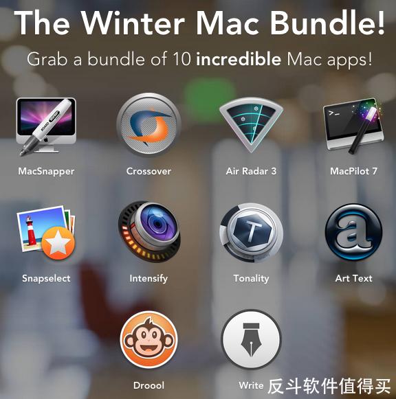 creatable 10 款 Mac 软件包[Mac] $8 起丨反斗软件值得买